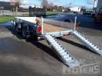 802266 transport graafmachines minigravers hoogtewerkers verzinkt chassis aanhangwagen