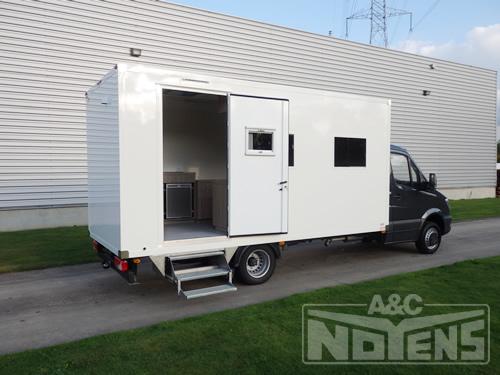 Operationele voertuigen a c noyens nv aanhangwagens for Mobiel te koop