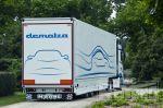 semi-trailer dubbele laadvloer